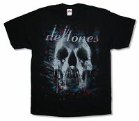 Deftones Skull Black T Shirt New Official Band Merch