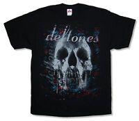 Deftones Skull Black T Shirt New Official Band Merch