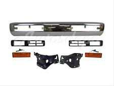 For 96-97 Hardbody 4WD Pickup Front Bumper Chrome Face Bar Bracket Signal 7Pcs