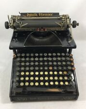 Typewriter Machine à écrire Smith Premier Numéro 10  Rare !