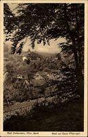 Bad Liebenstein Thüringer Wald Ansichtskarte 1930 Blick auf das Haus Thüringen