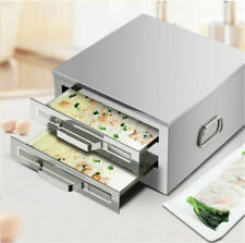 Dim sum steam box 304 stainless steel rice roll maker drawer Chinese