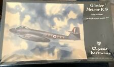 1/48 Classic Airframes Gloster Meteor F.8