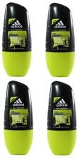 Adidas Pure Game For Men Roll-On Deodorant Antiperspirant 4 x 50 ml