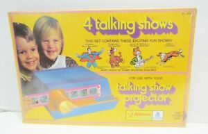 KENNER 1971 TALKING GIVE A SHOW PROJECTOR SLIDE SET SEALED SCOOBY DOO SUPERMAN +