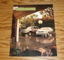 Original 2000 Toyota Car & Truck Full Line Sales Brochure 00 Land Cruiser Camry