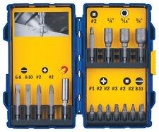 Irwin Tools 3057014 16-Piece Screwdriver Bit Set
