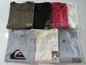 Quiksilver Mens Regular Fit Tshirts Nwt