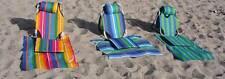 Portable Backpack Beach Chair Hiking Chair light weight 1.5 lb aluminum with mat