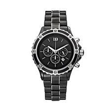 Danish Design IQ63Q961 Ceramic/Stainless Steel Chronograph Quartz Men's Watch