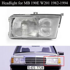 Fit for 84-94 MERCEDES BENZ W201 EURO GLASS HEADLIGHTS LEFT SIDE W/FOG