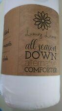 Luxury Linens Premium Super Plush Over Filled Down Fiber Comforter Full/Queen