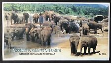 RARE! SRI LANKA ELEPHANT STAMPS SHEET 2003 ELEPHANT ORPHANAGE PINNAWALA ANIMALS