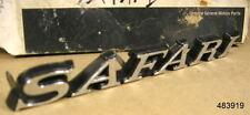 1971 1972 Pontiac Fullsize Safari Fender Emblem No GM Box NOS, 483919