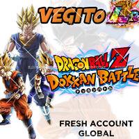 Dokkan Battle - Vegito LR + Vegito PHY - Fresh Legit Global