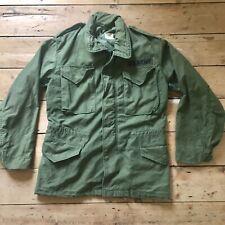 Vintage 1971 Vietnam era US Army M65 field jacket Small Reg