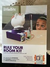 LittleBits Rule Your Room Kit Educational Toy Nwb Touch Activated Inventions