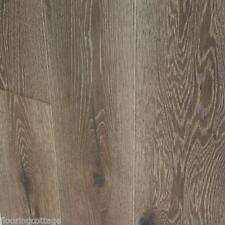 Engineered Oak Flooring 15 mm x 4 x 220 mm H/S Double Texturé Gris Chêne