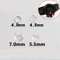 4.0/4.5/7.0/5.5mm Mineral Bubble Magnifier Lens For Date Window Watch Crystal