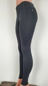 Fabletics Cold Weather Lined Tight Leggings Pants Small Black Pocket