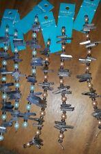 LOT OF 6 Hildie Jo Bead Strands Natural Crystal Quartz Pyrite Necklace Bracelet
