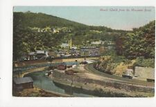 Mauch Chunk From Mountain Road Pa USA Vintage Postcard 122a