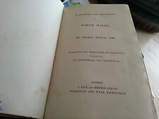 ROSCOE'S WANDERINGS AND EXCURSIONS IN NORTH WALES By Thomas Roscoe, .. Illus.