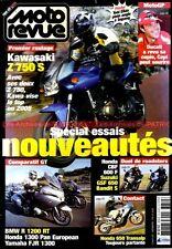 MOTO REVUE 3650 BMW R1200 RT HONDA CBF 600 XL V ST 1300 FJR YAMAHA KAWASAKI Z750