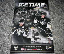 Pittsburgh Penguins ICETIME -FIRST GAME @ CONSOL CENTER