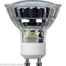 8 UK LOW ENERGY SAVING GU10 LED LIGHT BULBS IN WARM WHITE 3000k 240v MOOD LIGHTS