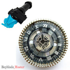 Fusion METAL Beyblade BB104 Twisted Tempo/Basalt Horogium+BLUE LAUNCHER+GRIP
