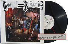 DAVID BOWIE LP Never Let Me Down VENEZUELA pressing Rare 1987 Excellent +