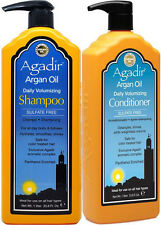 AGADIR ARGAN OIL DAILY VOLUMIZING SHAMPOO 1 LITRE AND CONDITIONER 1 LITRE