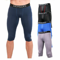 ARMEDES Men's Compression Pants Baselayer Cool Dry Tights Shorts 171