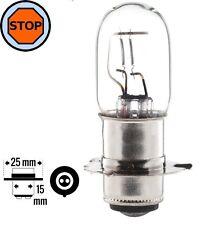 AMPOULE 6V 20/20W PX15D QUAD MOTO MOBYLETTE SCOOTER LAMPE FEU STOP ARRIERE PHARE