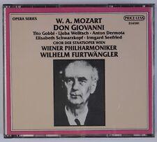 MOZART: Don Giovanni, Furtwangler, Schwarzkopf PRICE-LESS Opera Box CD