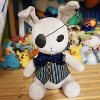 Big Black Butler Ciel Phantomhive Rabbit Plush Toy Mascot Doll Kuroshitsuji Gift