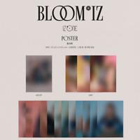 IZ*ONE 1st Album BLOOM*IZ Official Unfolded Bromide Poster + Tube Case