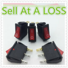 5pcs/lot LED Light 3PIN SPST ON/OFF G132 Rocker Switch 16A/250V 20A/125V Dash RV