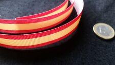 1 Metro Gewebeband Fahne Flagge Spanien Spanische Der 16mm (CINTA-02) Armband