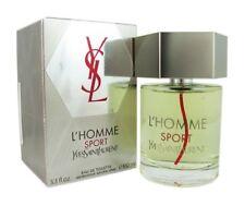L'Homme SPORT Yves Saint Laurent Men 3.3 oz 100 ml Eau De Toilette Spray Sealed