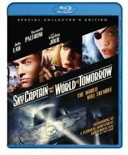 Blu Ray SKY CAPTAIN AND THE WORLD OF TOMORROW. Jude Law. New sealed.