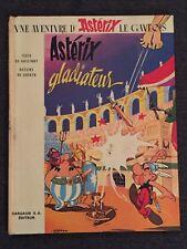 BD rare ASTERIX GLADIATEUR - collection DARGAUD - 1964