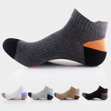 5 Pairs Men Cotton Ankle Socks Lot Casual Dress Sports Low Cut Soft Short Socks