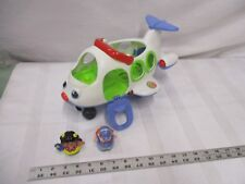 Fisher Price Little People airport Pilot Pig Animalville Landon Miles Myles toy