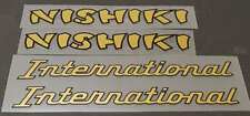 Nishiki International Combo Down Tube Decals - 1 Pair (sku Nish114)