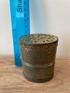 WW1 -  Tea and Sugar Box Ration Tin Box Double Ended