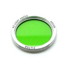 Vintage Agilux 38mm Light Green Filter Thread Mount *660