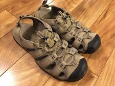 Croft and Barrow Men's Athletic Hiking Walking Strap Sandals - size12