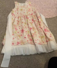 Girls Pretty Spanish Romany Style Pink Tuille /& Bow Tutu Skirt /& Top 3-4 4-5 Yrs